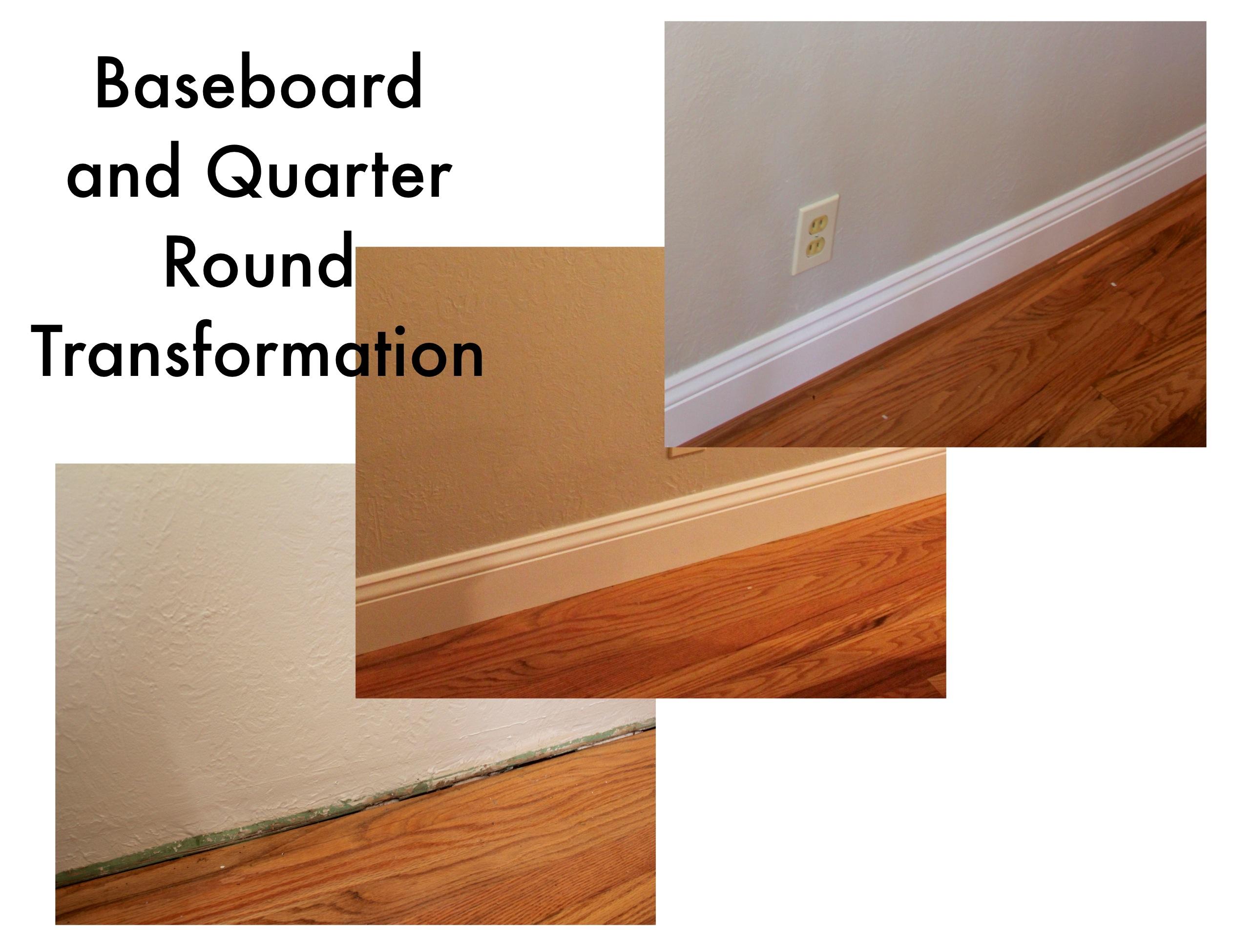 Painting Quarter Round