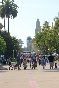 People watching at Balboa Park is highly entertaining. A great way to waste a few hours on a warm afternoon