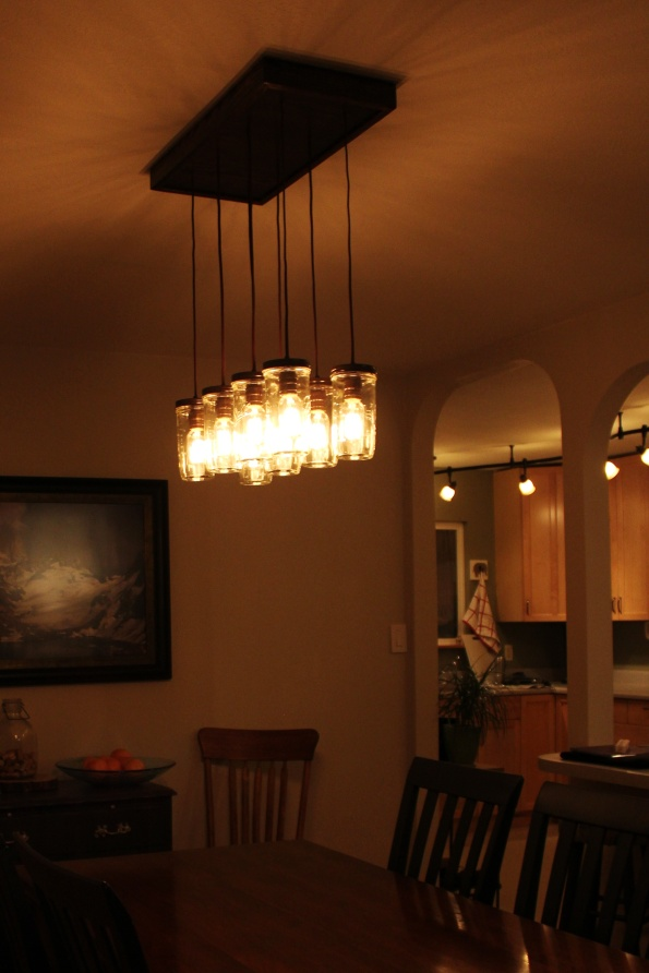 Last one, I promise. Isn't the light pattern on the ceiling gorgeous??