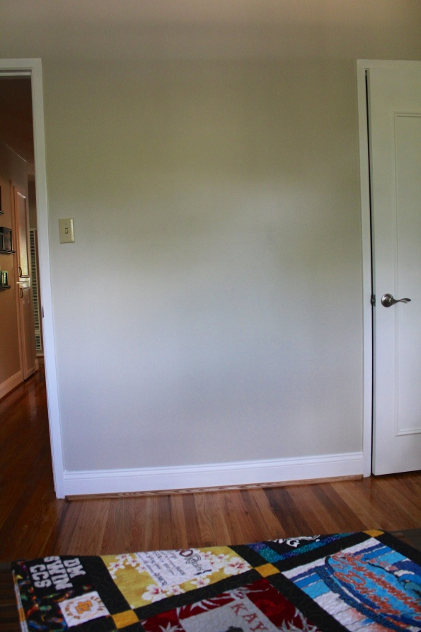 incredibly empty wall