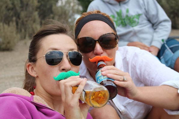 Yes, we have neon mustaches on occasion